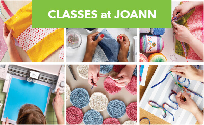 Take classes at JOANN, 1265 Polaris Pkwy, Columbus,OH